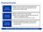 roadmap benefits