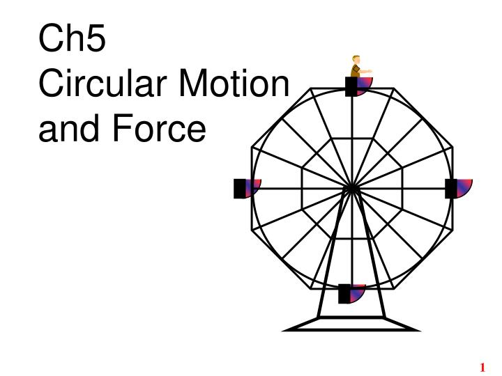 ch5 circular motion and force n.