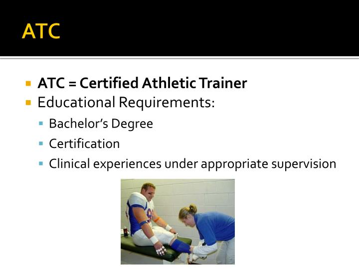 Ppt Athletic Training Powerpoint Presentation Id5510735