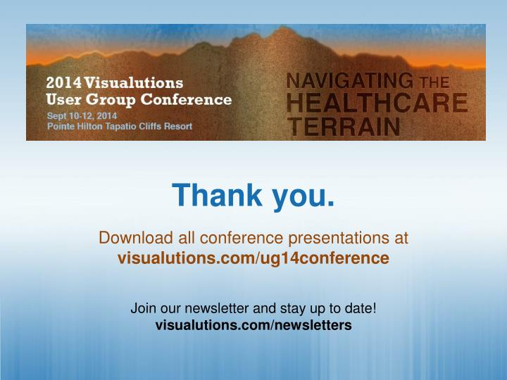 Download all conference presentations at