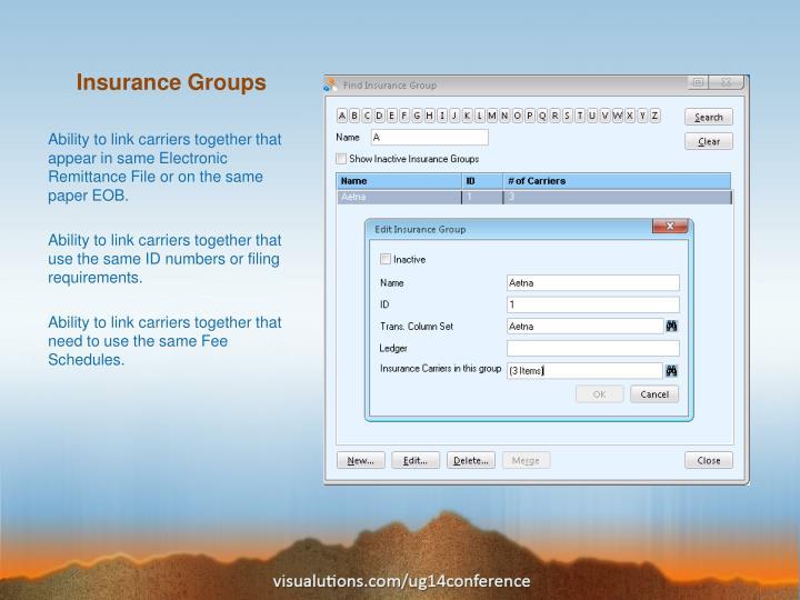 Insurance Groups