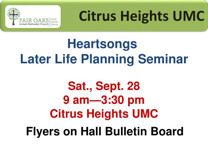 Citrus Heights UMC