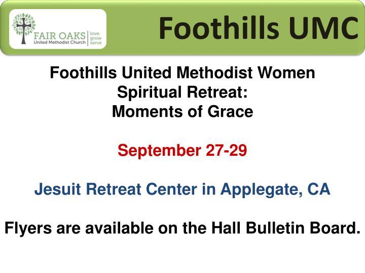 Foothills UMC