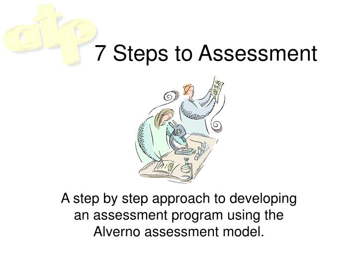 7 steps to assessment