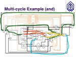 multi cycle example and1