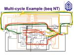 multi cycle example beq nt