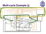 multi cycle example j1