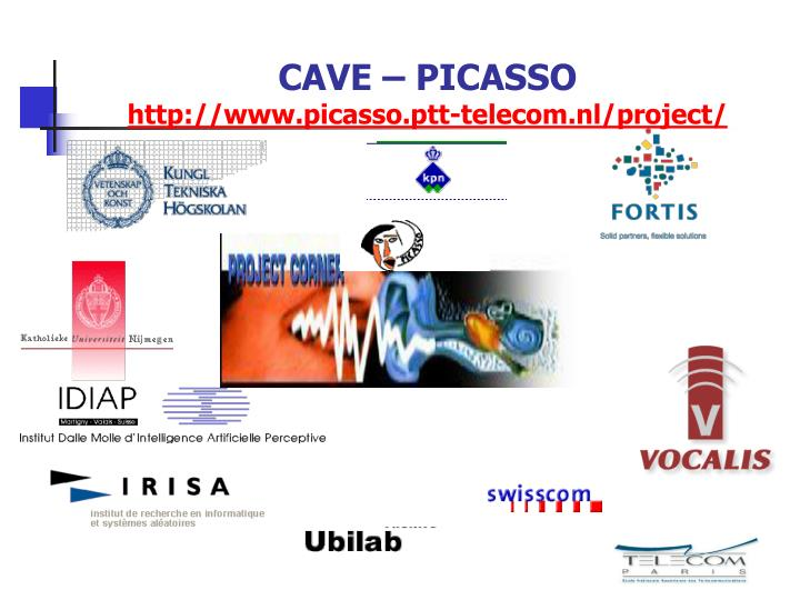 CAVE – PICASSO