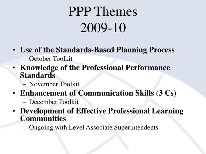 PPP Themes