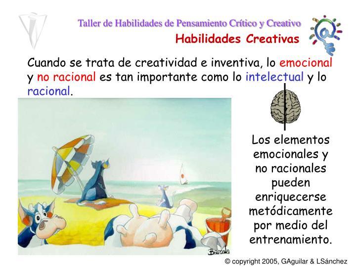 Cuando se trata de creatividad e inventiva, lo