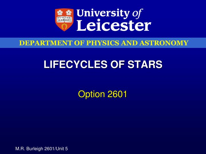 lifecycles of stars n.