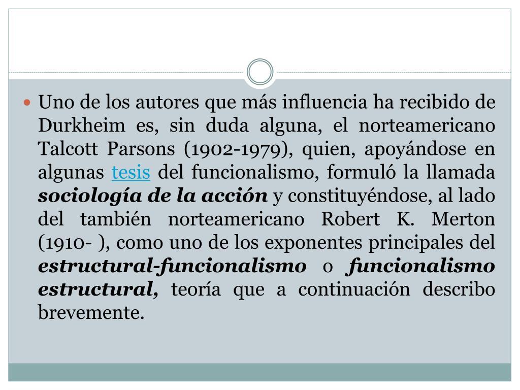 Ppt El Funcionalismo Powerpoint Presentation Free