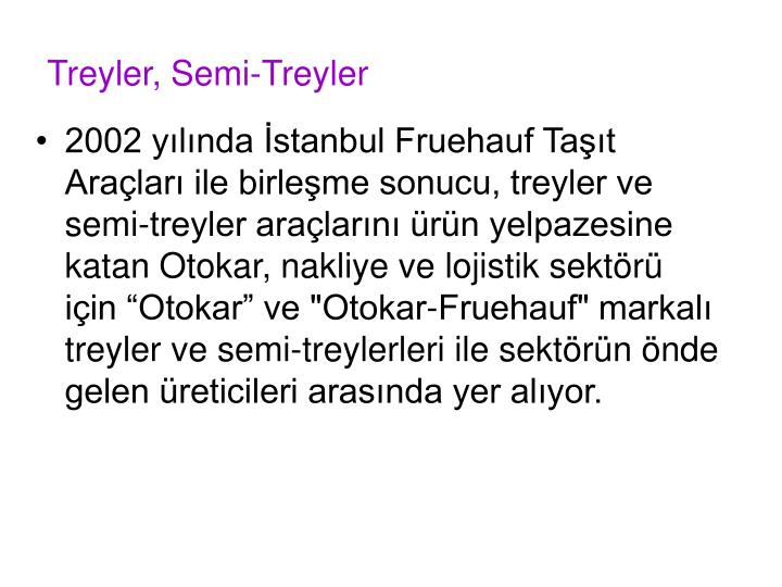 Treyler, Semi-Treyler