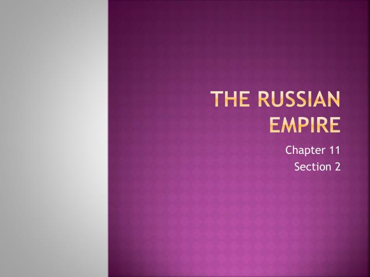 the russian empire n.