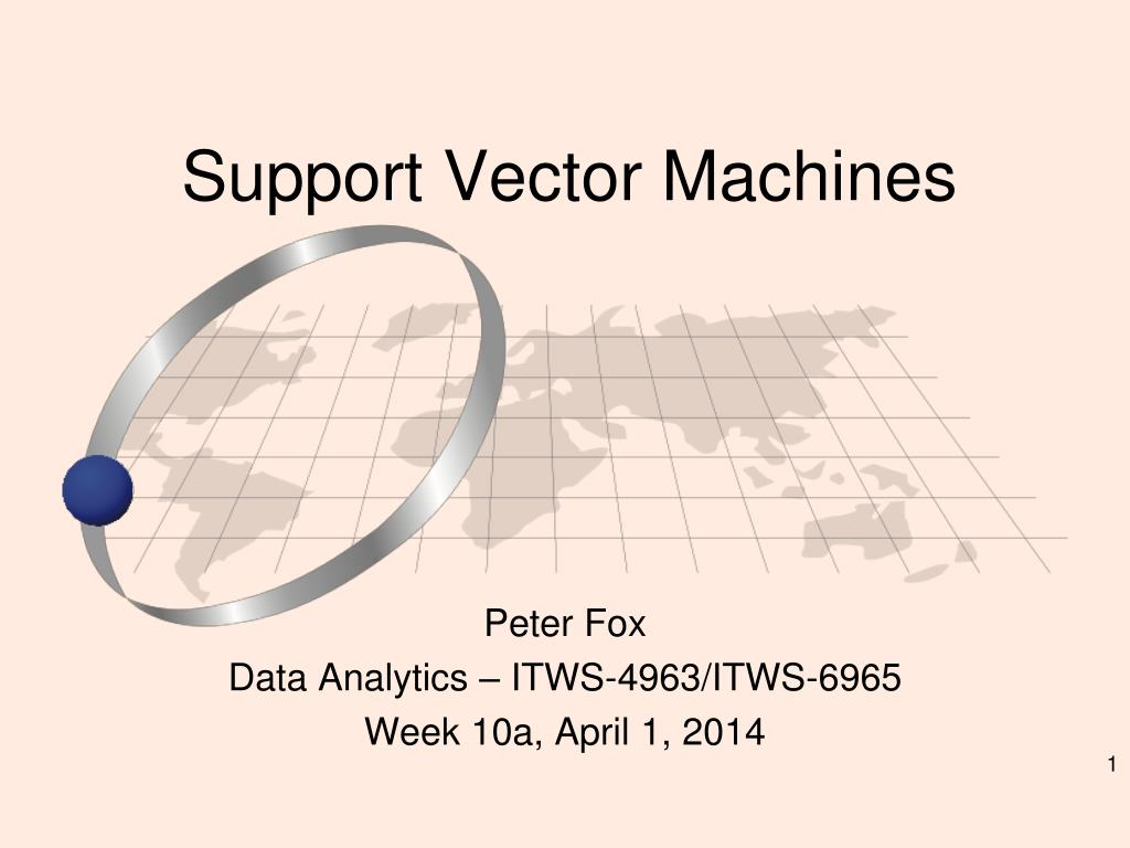 PPT - Support Vector Machines PowerPoint Presentation - ID