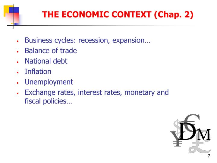 Business cycles: recession, expansion…