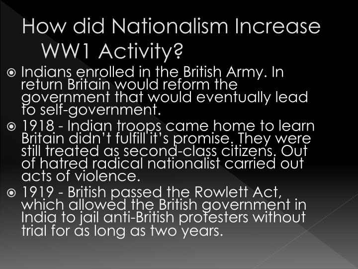 how did nationalism lead to ww1
