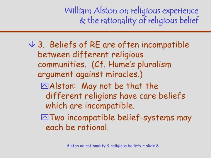 nielsens argument against the need of religion To be clear, these are philosophical arguments they're neither rooted in religious scripture nor any kind of scientific observation or fact many of these arguments, some of which date back thousands of years, serve as interesting intellectual exercises, teasing apart what we think we know about the universe and our place within it from.
