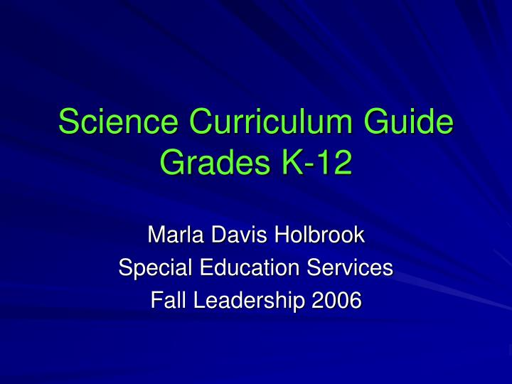health k 12 curriculum guide Curriculum & standards health expectations for michigan's students and are intended to guide local curriculum k-12 standards for.