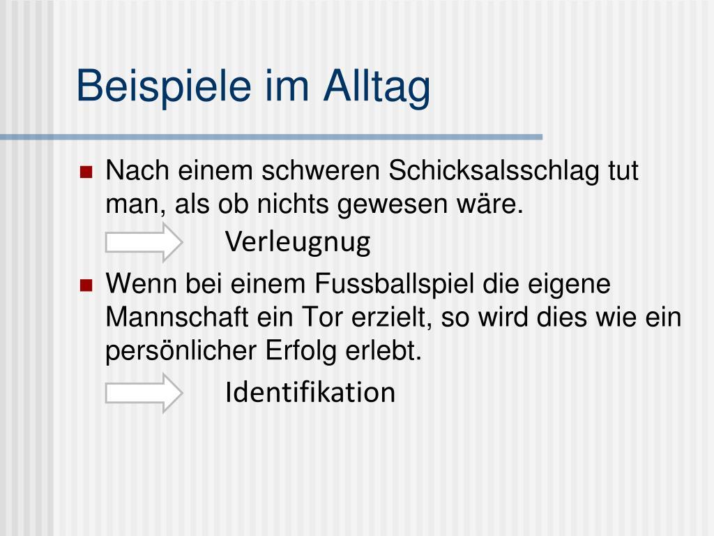Abwehrmechanismen Freud Beispiele ppt - motivation frühe erklärungskonzepte: s.freud