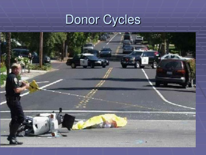Donor Cycles