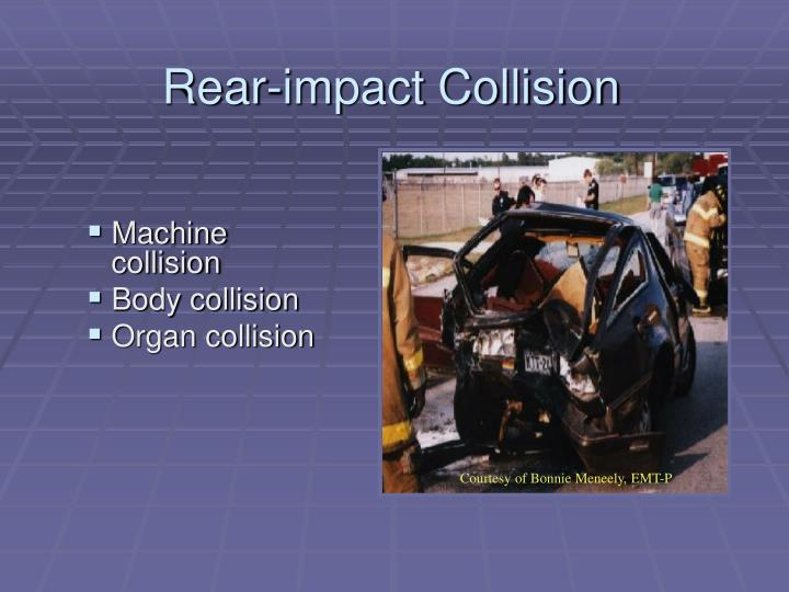 Rear-impact Collision