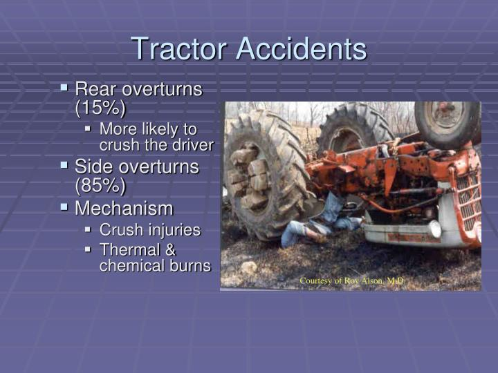 Tractor Accidents