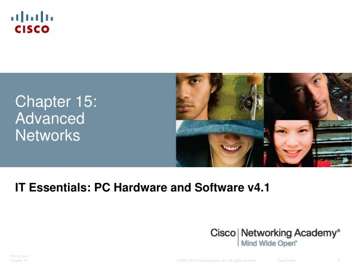 Chapter 15 advanced networks