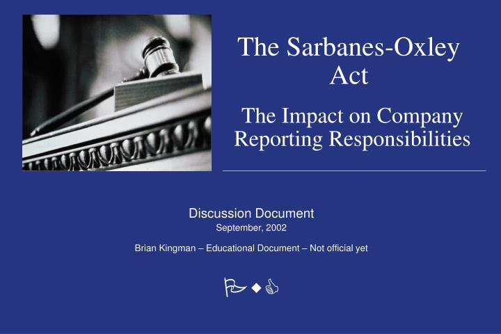 glass steagall act the sarbanes oxley act
