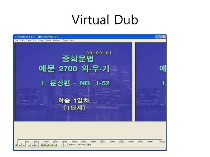Virtual Dub