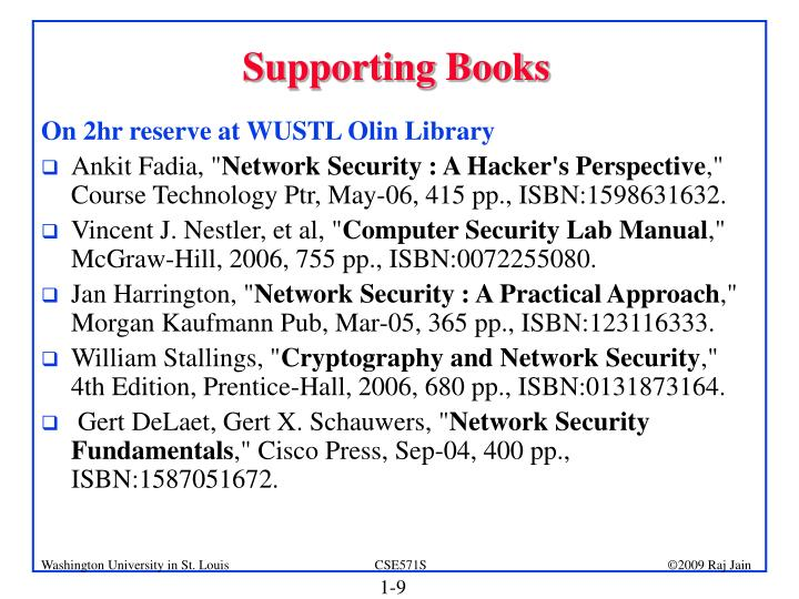 Supporting Books