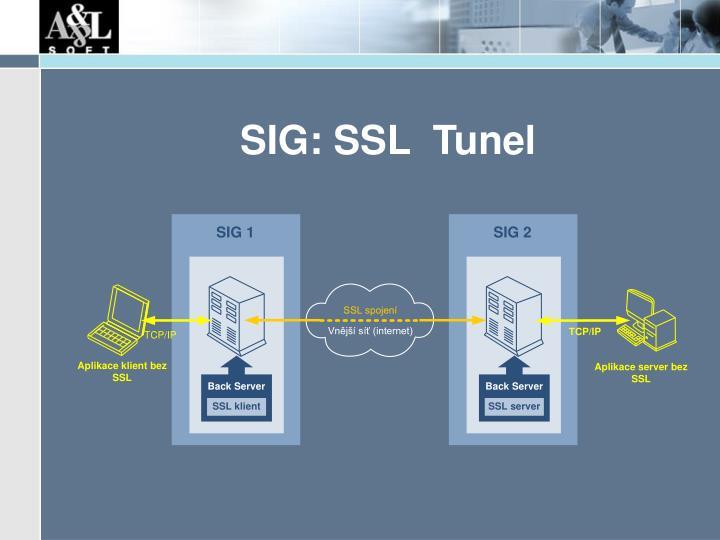 SIG: SSL  Tunel