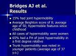 bridges aj et al results
