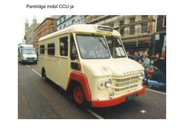 Pantridge mobil CCU-ja