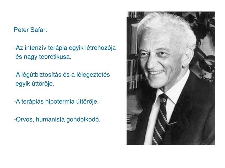 Peter Safar: