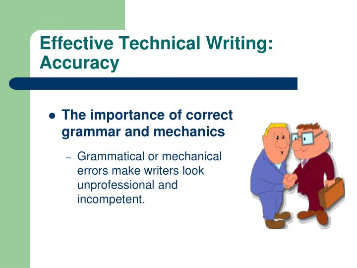 what is the importance of technical writing
