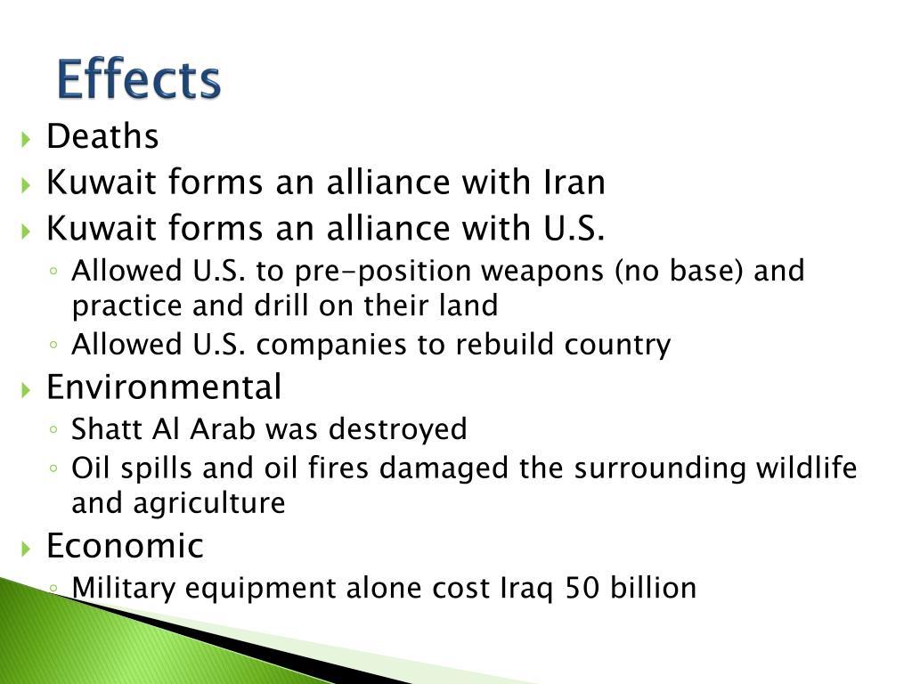 PPT - Persian Gulf War or Operation Desert Storm 1991