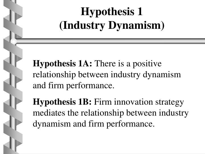 Hypothesis 1
