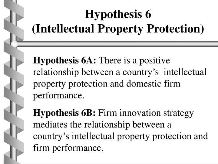 Hypothesis 6