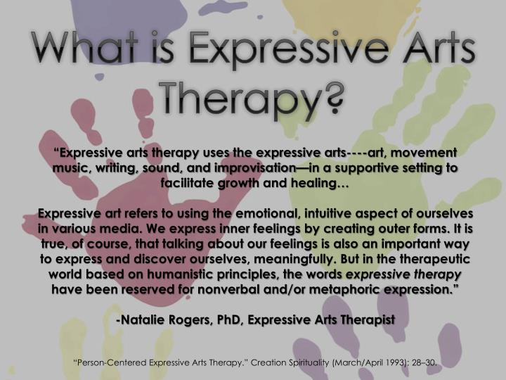 expressive arts therapy essay Oakland expressive arts therapist working with individulas, couples, adolescents and young adults to address anxiety, depression, and trauma in therapy we take the time to examine what is happening for you, to face what may be confusing, scary, or painful in a clear and focused way.