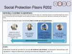 social protection floors r202
