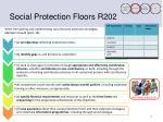 social protection floors r2021