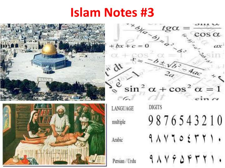 Islam notes 3
