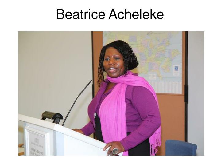 Beatrice Acheleke