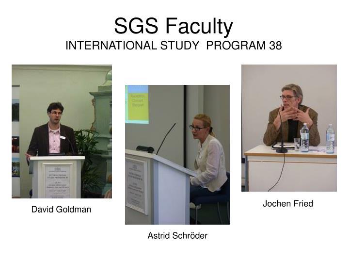 SGS Faculty