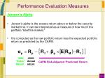 performance evaluation measures3