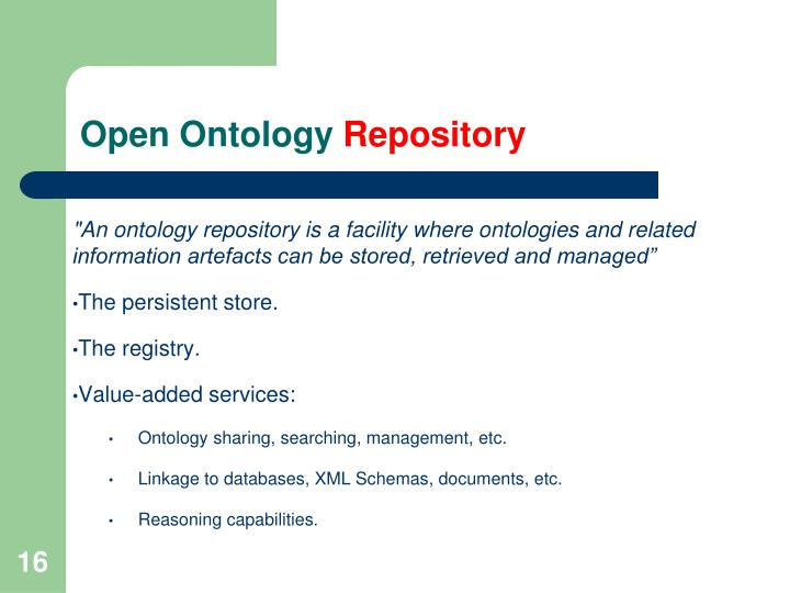 Open Ontology
