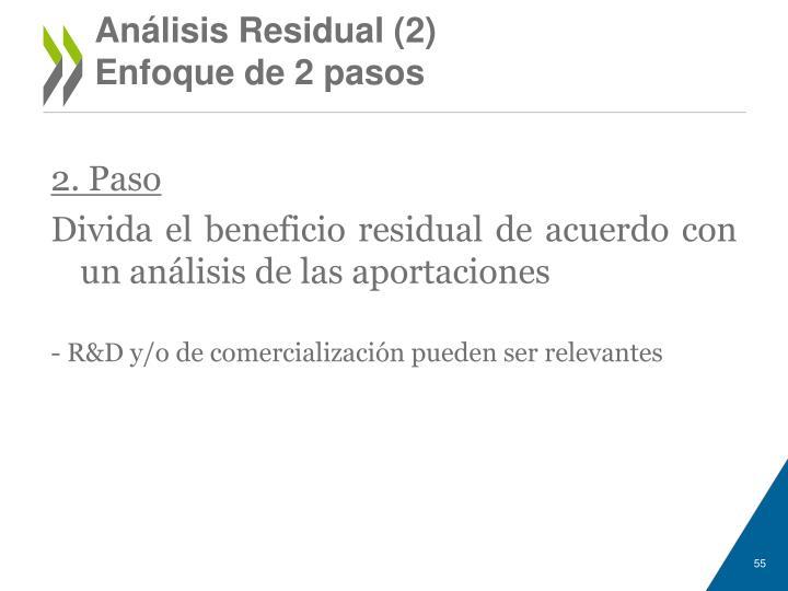 Análisis Residual (2)