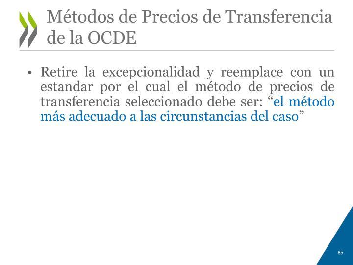 Métodos de Precios de Transferencia de la OCDE