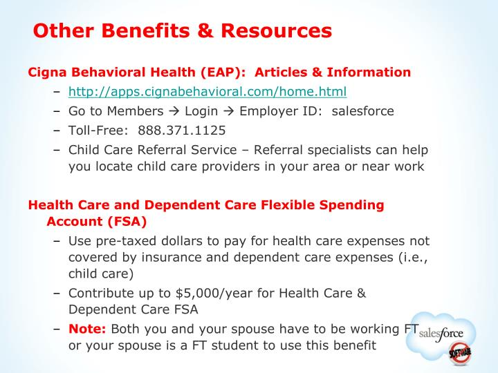 Other Benefits & Resources